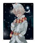 First Snow (Youtube Channel + Ko-fi Page!!) by kaiiruuu