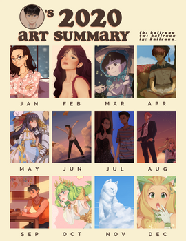 my first art summary