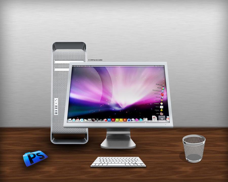 Apple Desk Mac Pro by Berlin19 on DeviantArt