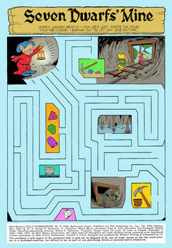 Dopey Maze - Silly Symphonies #8 - Page 2