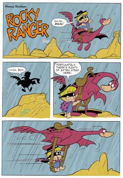 Cave Kids #7 (1964) - Rocky Ranger - Rain
