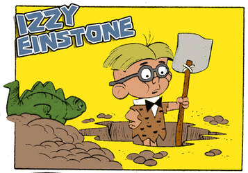 Izzy Einstone - Cave Kids
