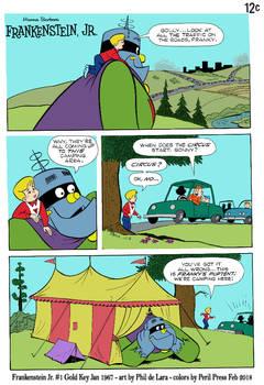 Frankenstein Jr - Circus Tent