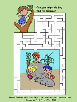 Hanna Barbera Cave Kids - Maze