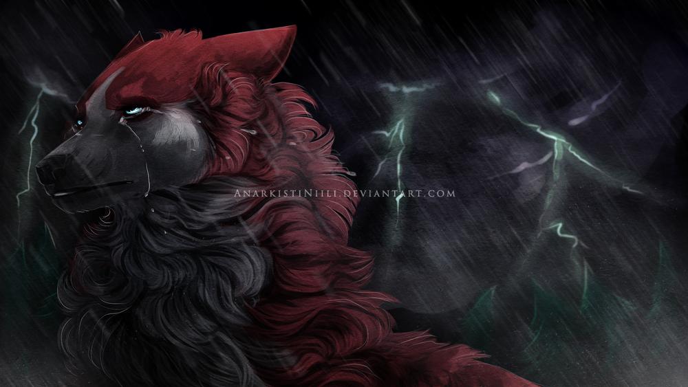 2016 : Commission - Ghosterrr by AnarkistiNiili