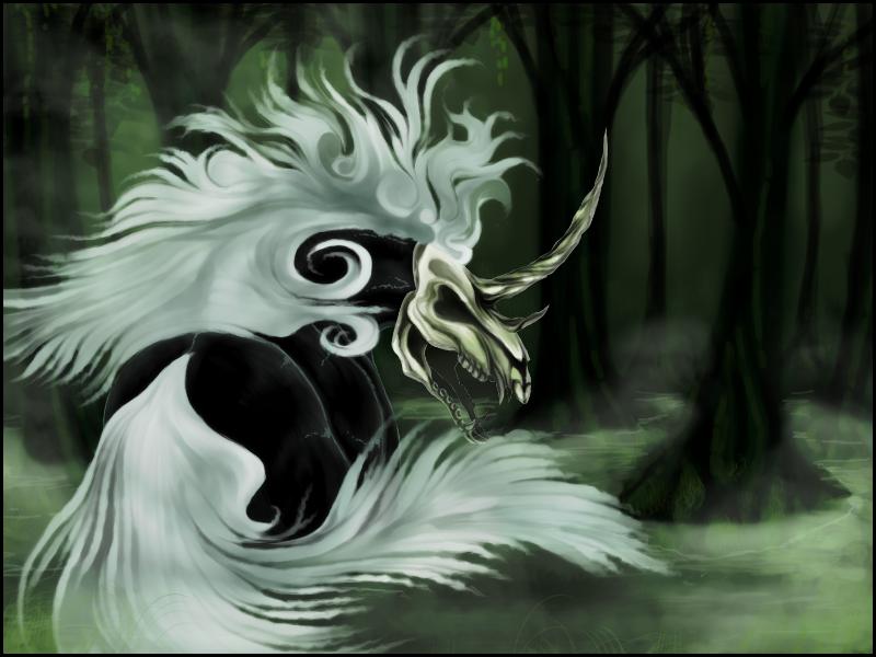 Old Art - Swamp Monster by AnarkistiNiili