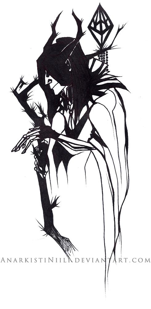 Old Art - Mr Spook by AnarkistiNiili