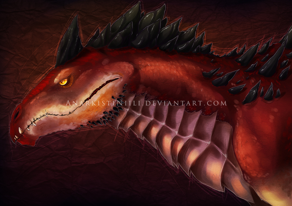 Old Art - Draco by AnarkistiNiili