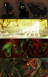 Anarkisti RPG - Creatures by AnarkistiNiili