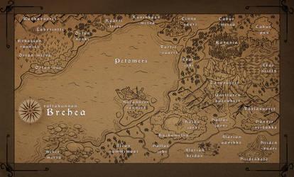 Valtakunnan Brehea - Kartta by AnarkistiNiili