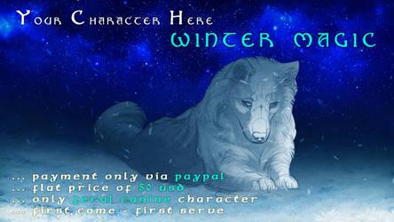 YCH - Winter Magic- Closed