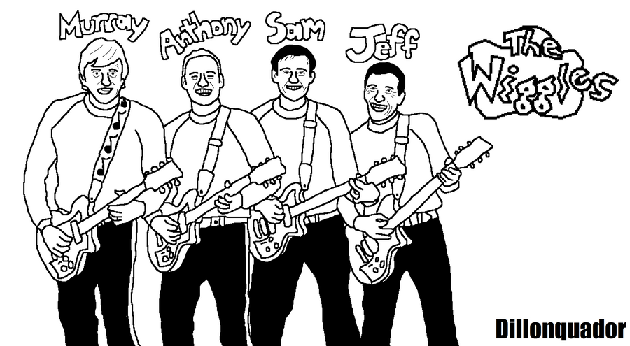 The Wiggles Coloring Pages To Print Coloring Pages