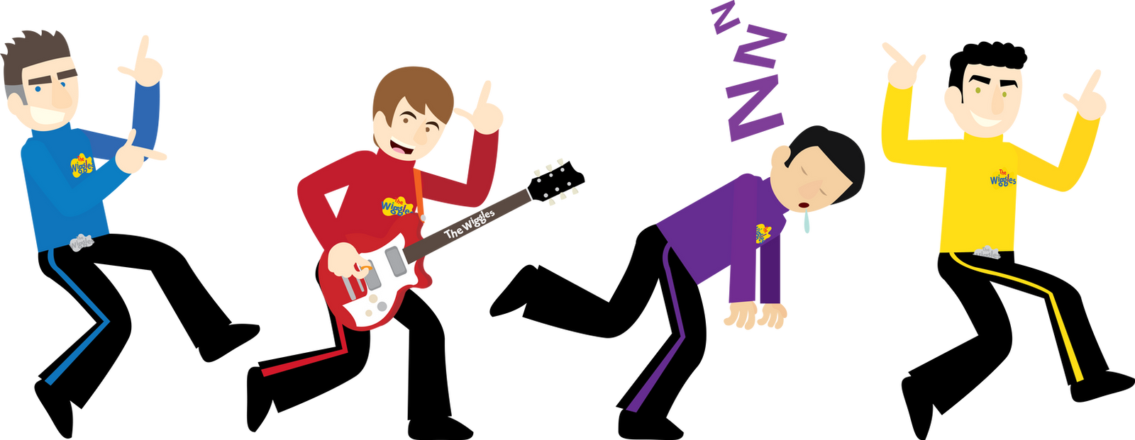 The Wiggles By Dillonquador On Deviantart