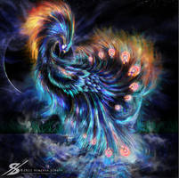 Solar Phoenix. by Zaellrin