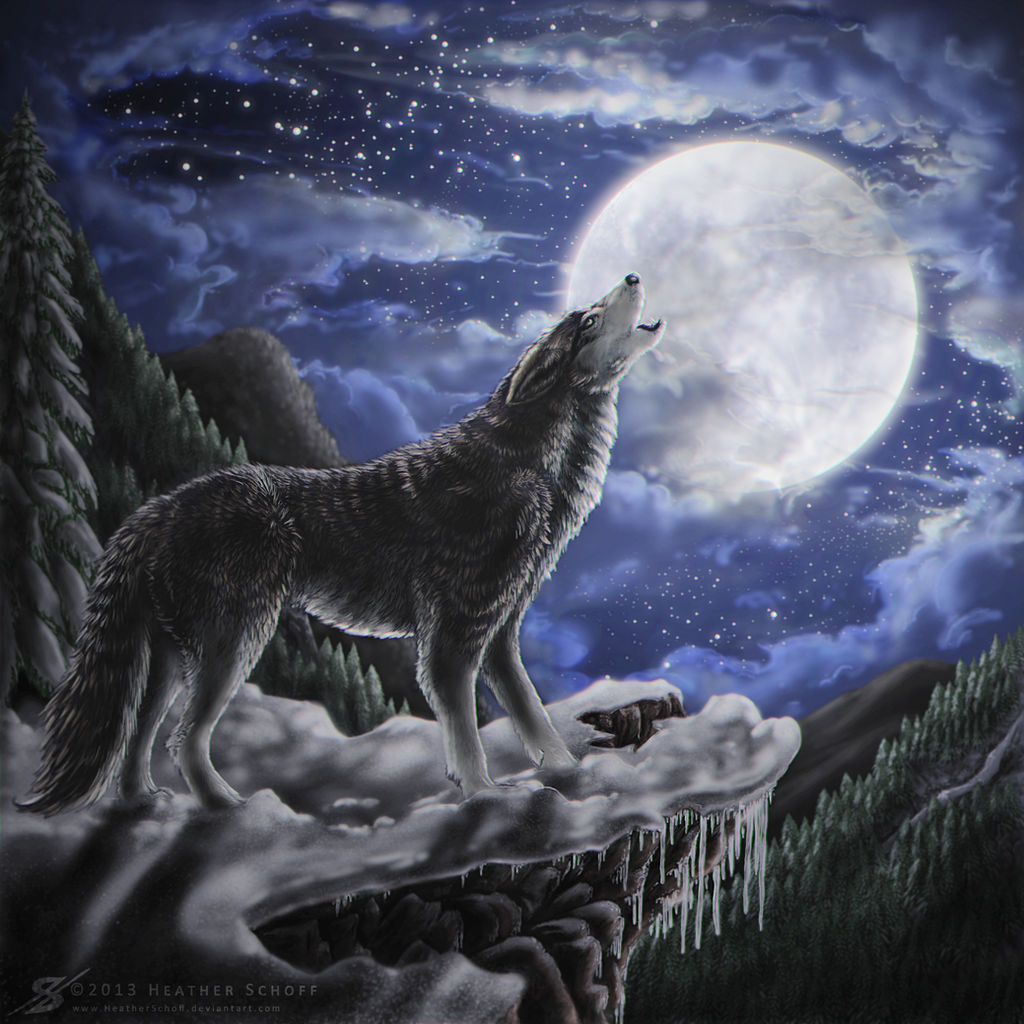 Wolf Moon.