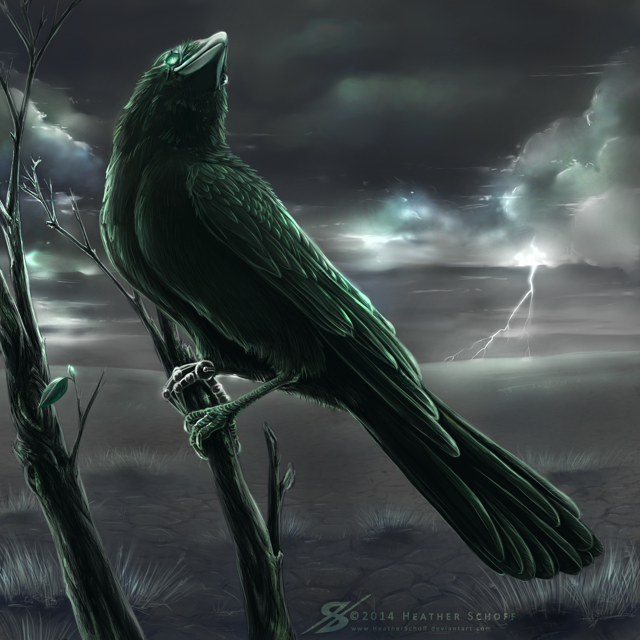 Mechanical Raven. by HeatherSchoff