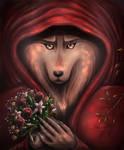 Red Riding Hood. by Zaellrin