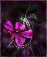 Glow Worm Fairy. by Zaellrin