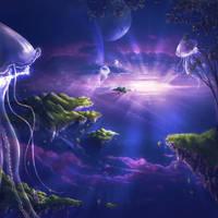 Alien Dreamland. by Zaellrin