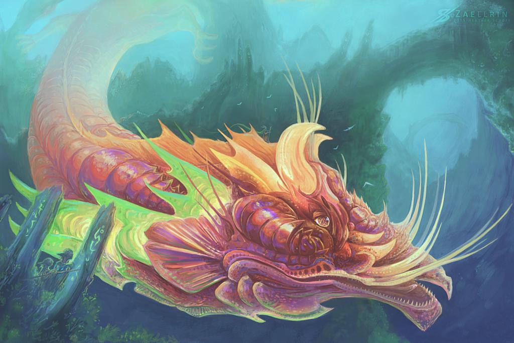 Dragons Crossing. by Zaellrin