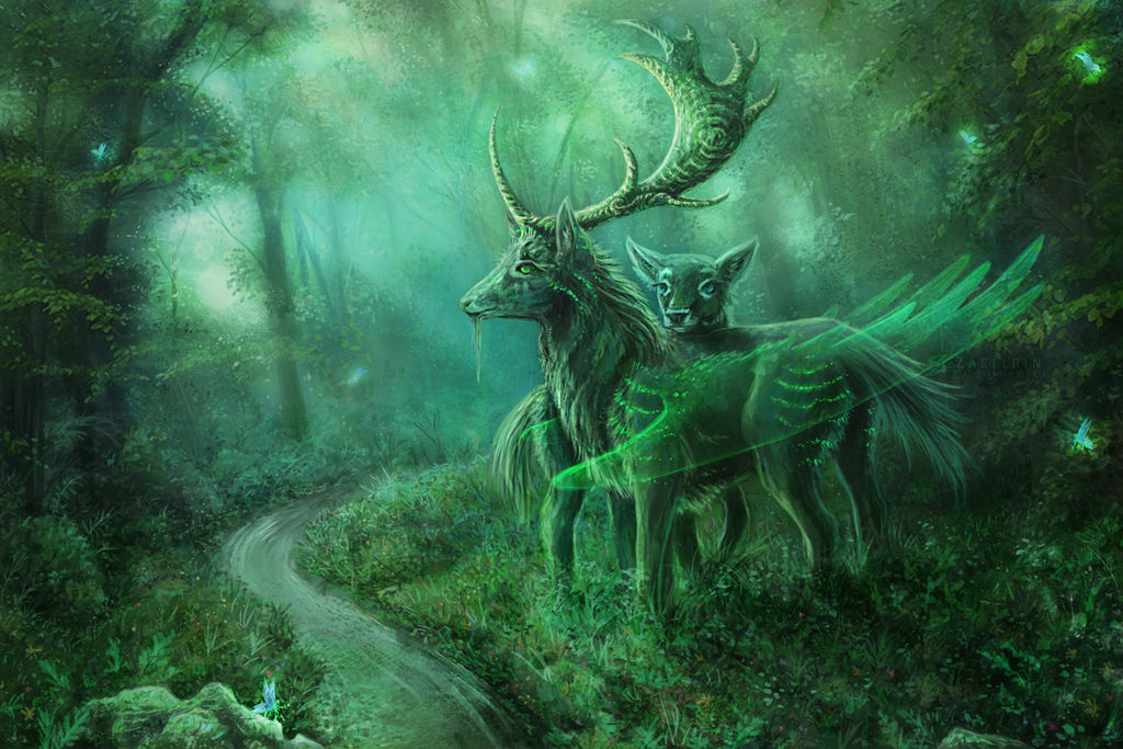 My Deerest Unicorn. by Zaellrin