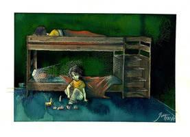 sleepless nights at camp by xxx-JEM-xxx
