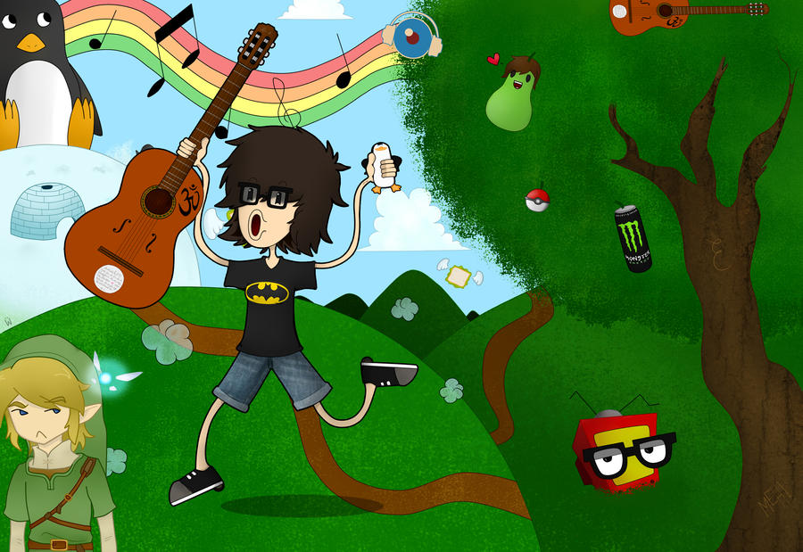 ¡Cantantes preferidos! Yellow_mellow_w__background_by_naya_2d-d57kowp