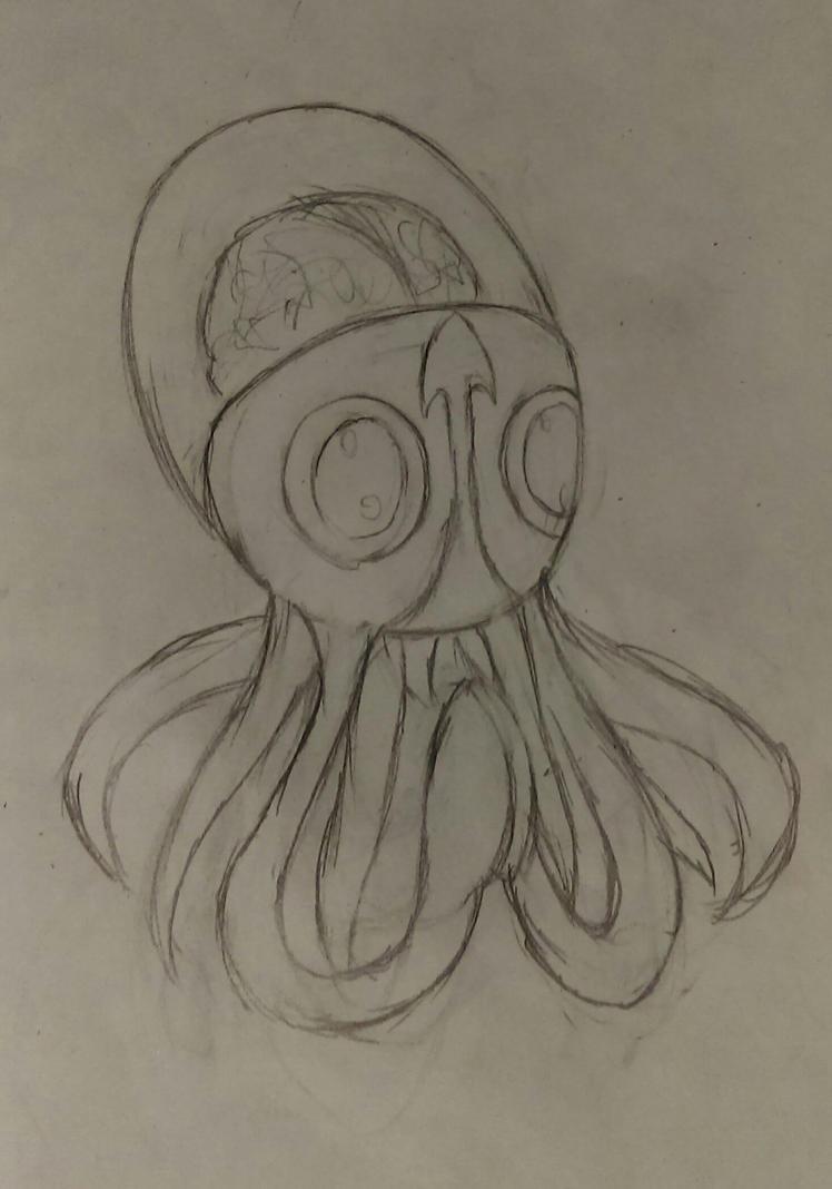 Brain Squid by ICB-Penguin