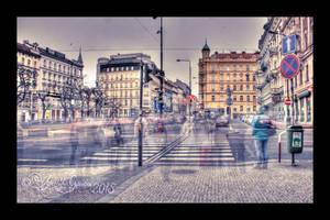 Evening Ghosts of Prague