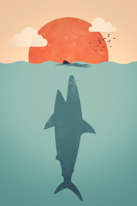 Shark Attack by FILISKUN