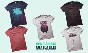 New t-shirts!