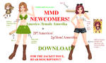 MMD Newcomer - Americo + 2P!Americo