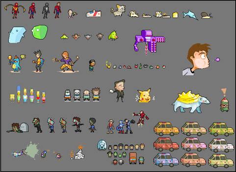 Random Pixel Art's