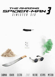 The Amazing Spider Man - Sinister Six [Poster]