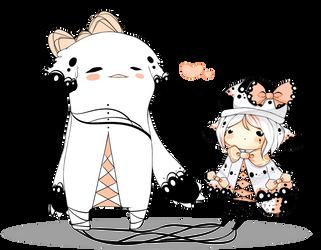 [OC shadowmonster] - Miu by Somichii
