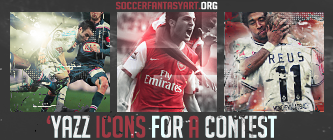 'yazz iconS for a Contest on soccerfantasyart.org by YaZzDungedon