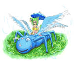 Neko and wyrmfly