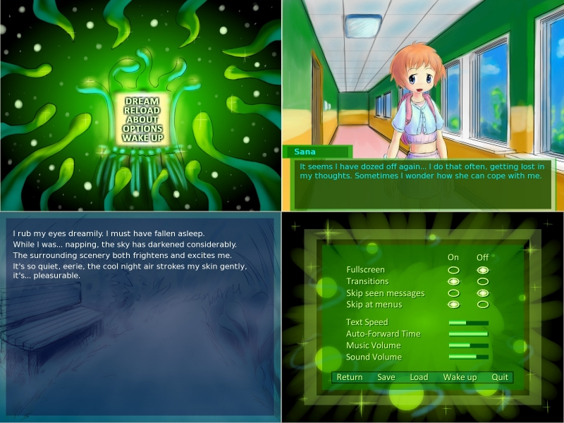 Metadream Complex Visual Novel by Neowired