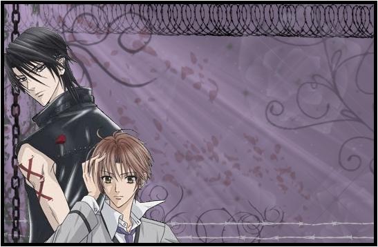 Luka and Yuki Schoollabel by B-Insane