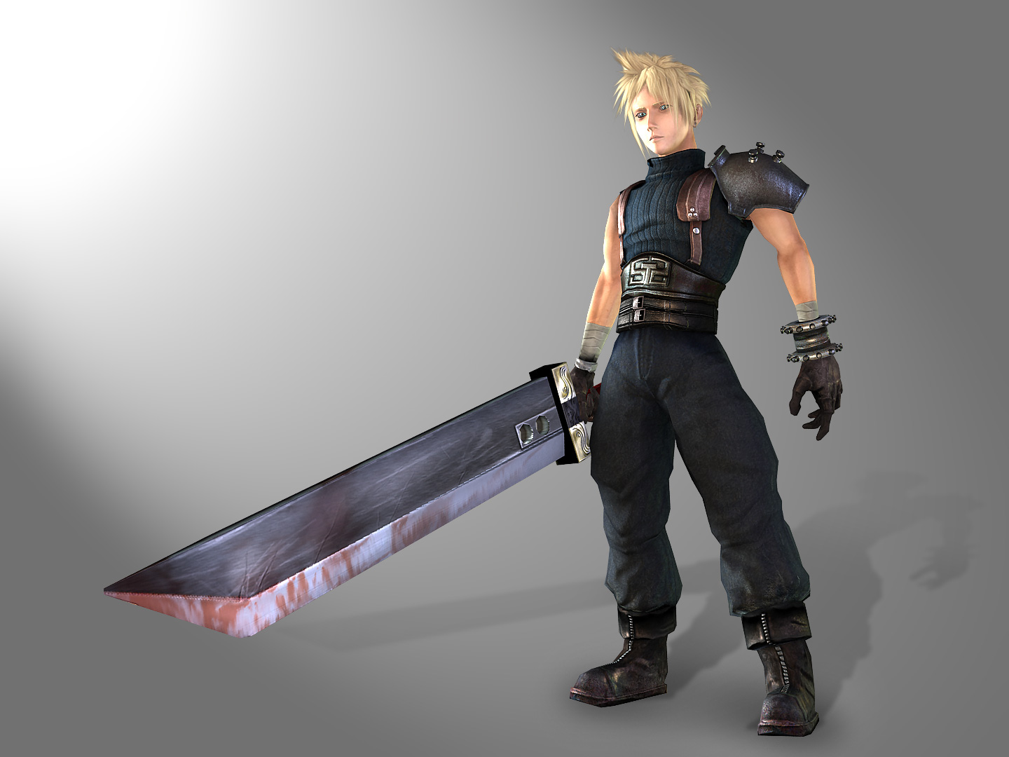 Cloud FF7 REMAKE by genci on DeviantArt