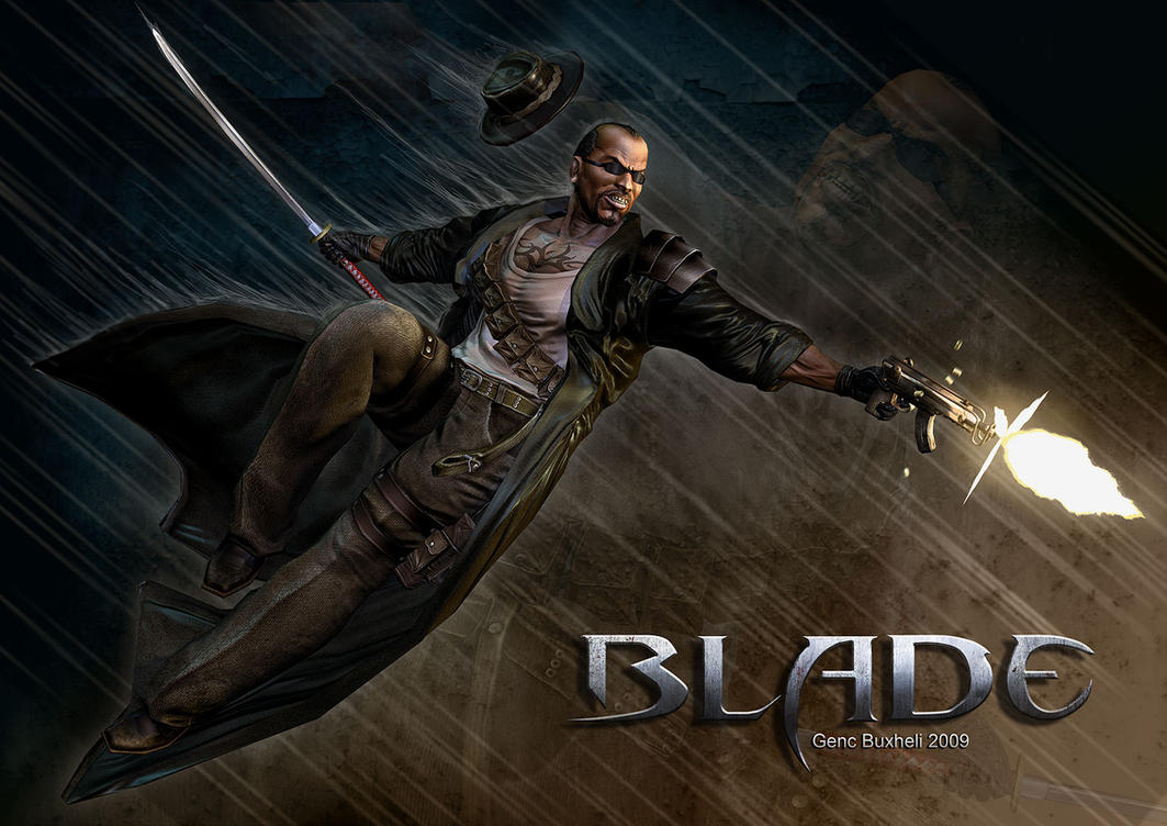 Blade Comicon Entry by genci