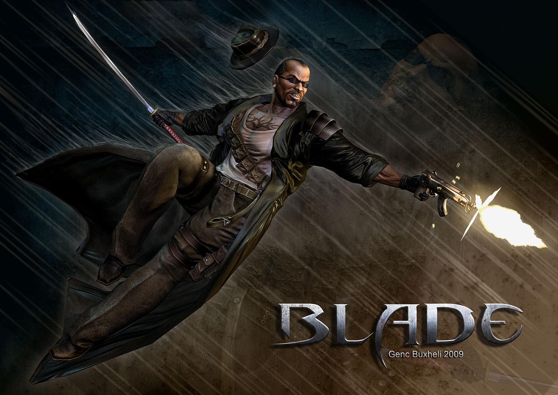 Blade Comicon Entry by genci