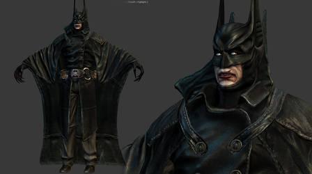 Vampire Batman by genci