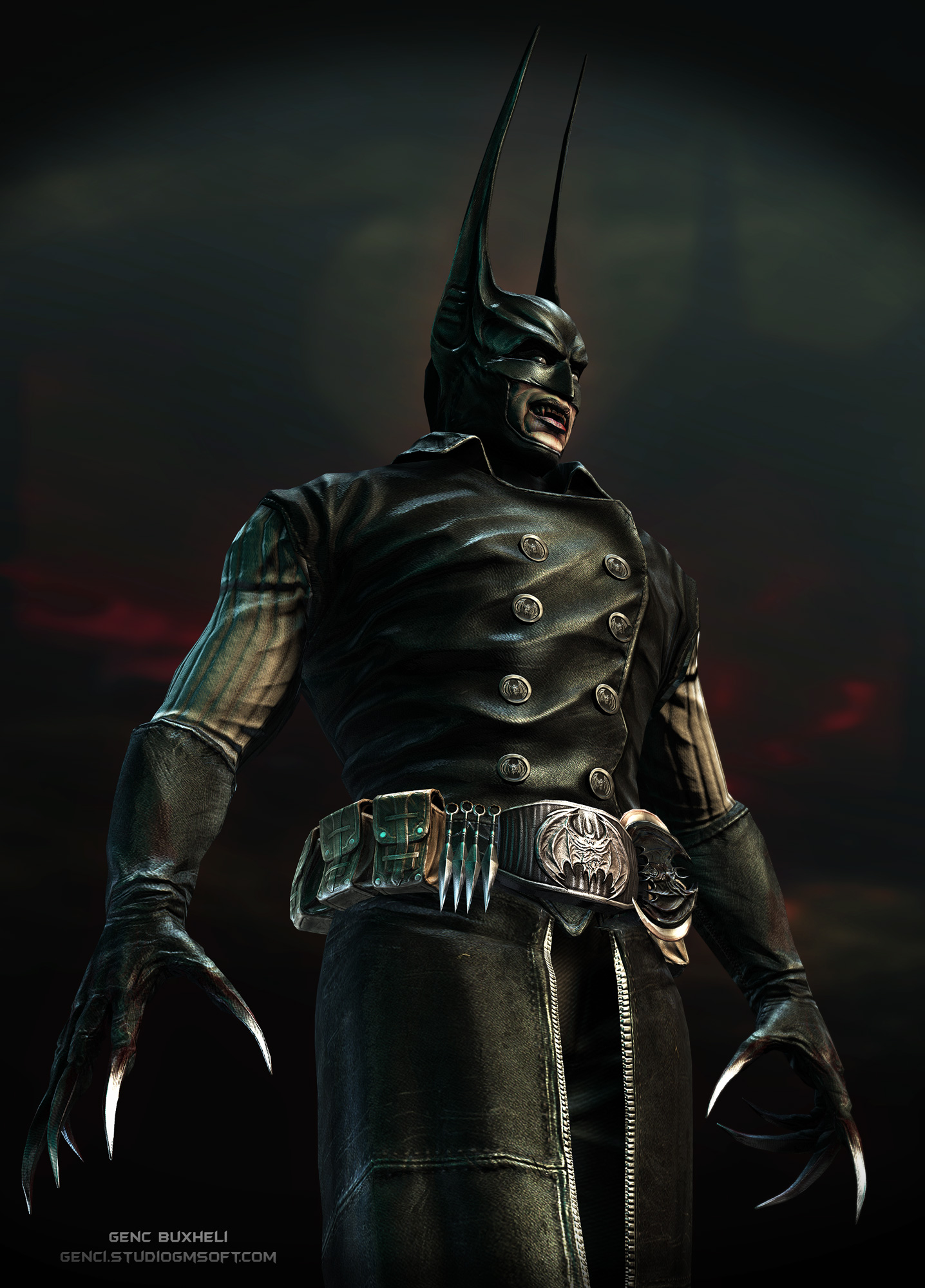 Vampire Batman Pose1 by genci