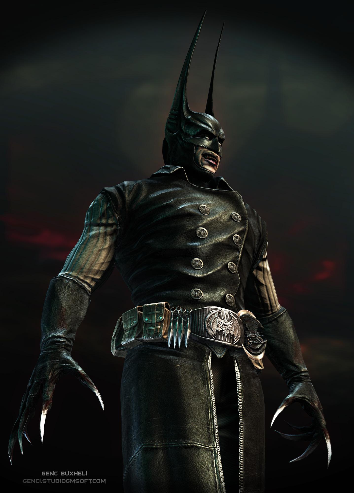 Vampire Batman Pose1 by genci
