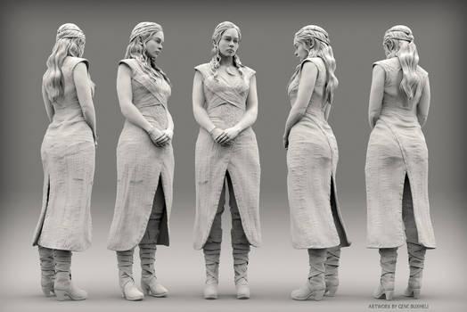 Daenerys Targaryen sculpt