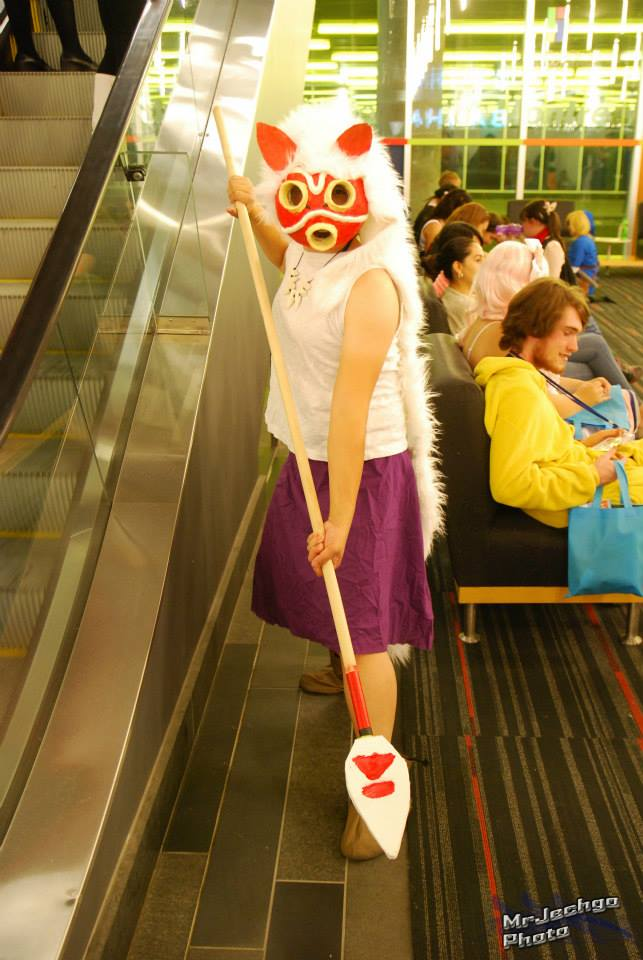 Otakuthon 2014 - Princess Mononoke 1 by gentai