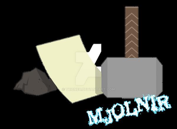 rock, paper, sc-MJOLNIR!! by tricneu