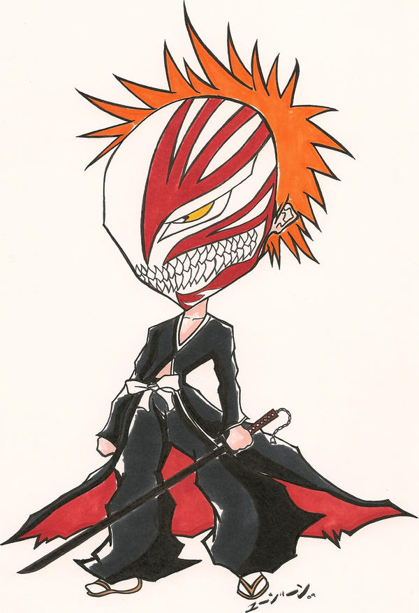 SD Hollow Bankai Ichigo by Yuujiin on DeviantArt
