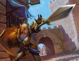 Blade Strike by Ketka
